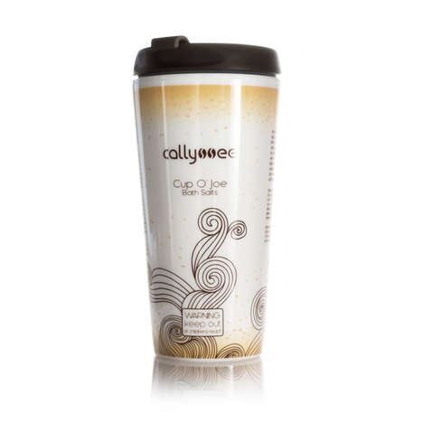 Caffeinated Bath Salts - Callyssee's Scented Bath Salts Boast the Aroma of Coffee Arabica