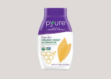 Sugar-Free Stevia Sweeteners - Pyure Makes Its Honey Substitute with a Base of Stevia