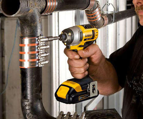 Professional-Grade Power Drill Kits - The DeWalt Hammer Drill & Impact Driver Kit Handles Many Tasks