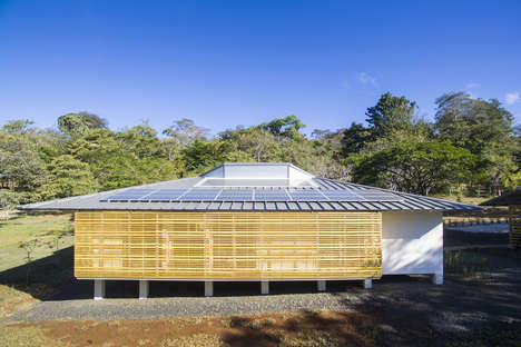 Modernist Off-Grid Residences - 'Tropik Works' is the First Fully Off-Grid Home in Costa Rica