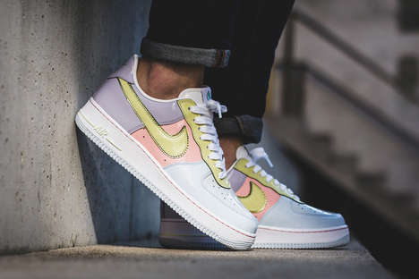 Retro Easter-Inspired Sneakers - These New Air Force 1 Lows Feature a Myriad of Pastel Colors