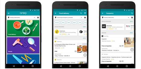 Multi-Purpose Smartphone Apps - Google Aero Brings the City to Users Doorsteps