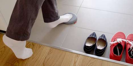 Entranceway Stepping Stones - The 'Tobiishi' Step Pads Offer a Dedicated Spot to Step