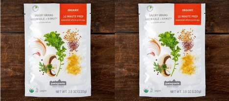 Premixed Grain Dishes - The Patagonia Provisions Green Kale + KAMUT Vegetables and Grains are Ideal