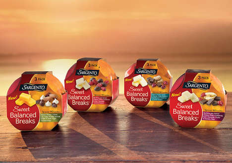 Sweet-and-Savory Snack Sets - Sargento Foods' Newest Balanced Snacks Pair Protein with Sweets