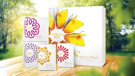 Seasonal Supplement Sets - 'Hello Day' Sells Its Supplements in Boxed Kits Based on the Seasons