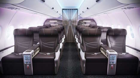 Hawaiian Airline Cabins - Hawaiian Airlines' New Cabin Design Incorporates Cultural Details