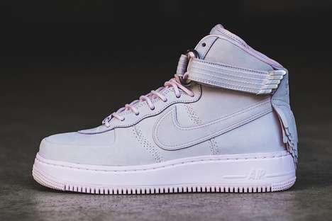 Tasseled Lilac Sneakers - These Nike Air Force 1 High SLs are a Part of the Brand's Easter Pack