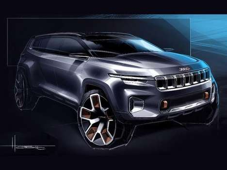 Rugged Chinese Luxury SUVs - The Hybrid Jeep Yunti Concept is Set to Debut at the Shanghai Auto Show