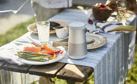 Conical 360-Degree Speakers - The Bose SoundLink 'Revolve' Speakers Boast Room-Filling Sound