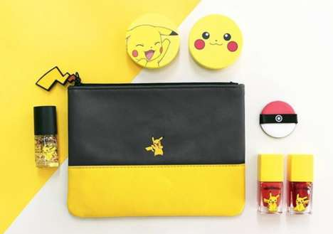 Anime-Inspired Cosmetics - This Tony Moly Collection is Branded with Iconic Pokemon Characters