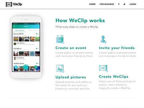 Collaborative Social Media Apps - The 'WeClip' Collaboration Platform Involves Everyone