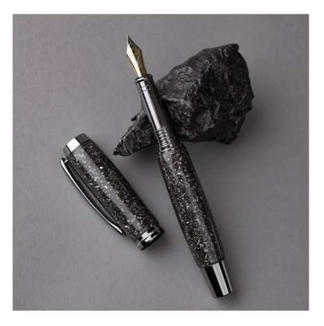 Handcrafted Meteor Pens - The Meteorite Pen Makes for the Perfect Collectible Item