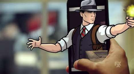 Augmented Investigation Apps - The 'Archer, P.I.' App Integrates AR and Printing Technology