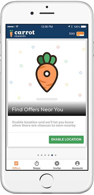 Health Incentive Rewards - The Carrot Rewards App Lets Healthy Users Unlock Exclusive Perks