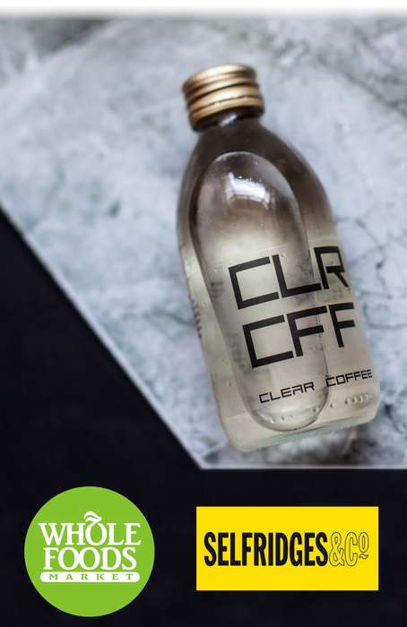 Transparent Cold-Brew Coffees - This Beverage is Marketed as the World's First Clear Coffee