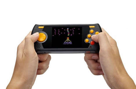 Handheld Retro Gaming Consoles - The Atari Flashback Portable Consoles Come Loaded with 60 Games