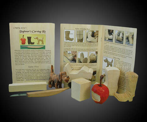 DIY Wood Carving Kits - This Beginner Wood Carving Kit Brings a Classic Pastime to the Present