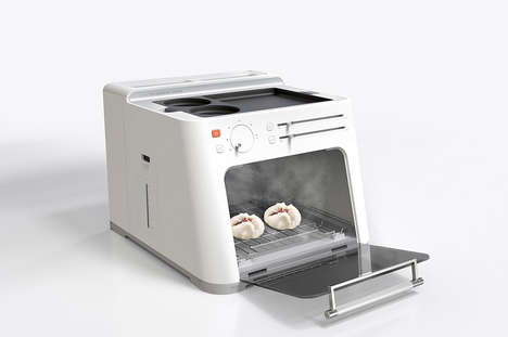 Cultural Breakfast Kitchen Appliances - The 'Breakfast Machine' Cooks Cuisines from Around the World
