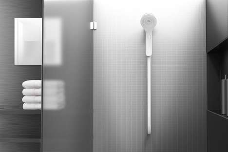 Water-Conscious Shower Systems - The Matter & Mindtribe 'Well' Shower Head Monitors Water Usage