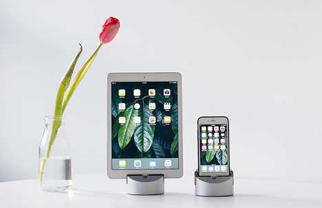 Dual-Device Smart Docks - The Gravitas Apple Dock Accommodates the iPhone and the iPad