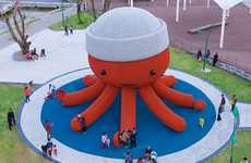 Oversized Octopus Playgrounds