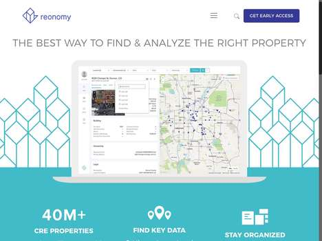 Real Estate Data Companies - 'Reonomy' Offers Commercial Real Estate Data to Lenders and Brokers