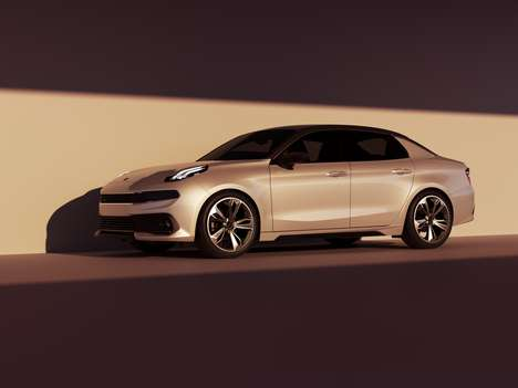 Novel Connected Car Models - The LYNK & CO 03 is the Newest Model from the Connected Car Company