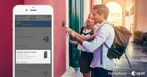 Renter-Friendly Lock Systems - HomeAway and August are Partnering to Make Rental Security Easier