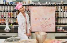Illuminating Celebrity Highlighters - Chrissy Teigen & Becca Cosmetics Created 'Glow Face Palettes'