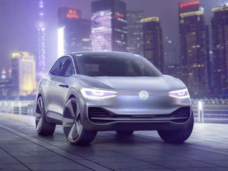 Air-Filtering Crossover Concepts - The Volkswagen I.D. Crozz Provides Passengers Clean Air Anywhere