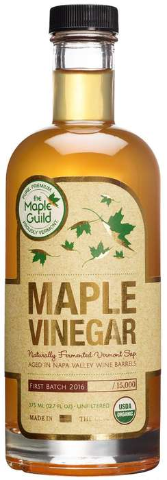 Maple Vinegar Condiments - The Maple Guild Naturally Ferments Sap to Make This Unique Condiment