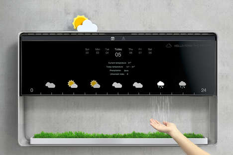 Weather-Mimicking Forecast Devices - This Weather Forecaster Brings the Experience Indoors
