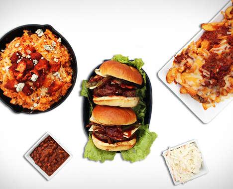 DIY Burger Kit Deliveries