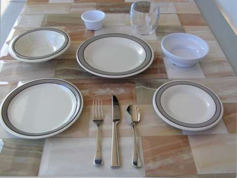 Dedicated Diet Tableware - 'Dietware' is a Tableware Collection That Focuses on Portion Sizes