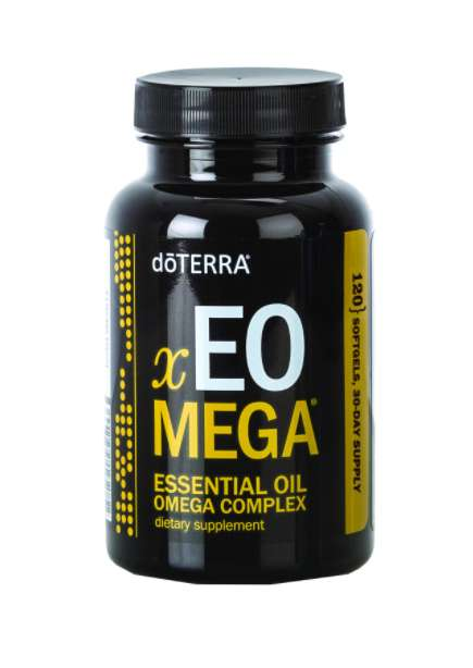 Essential Oil Softgels - The xEO Mega Omega Capsules Also Contain Beneficial Essential Oils