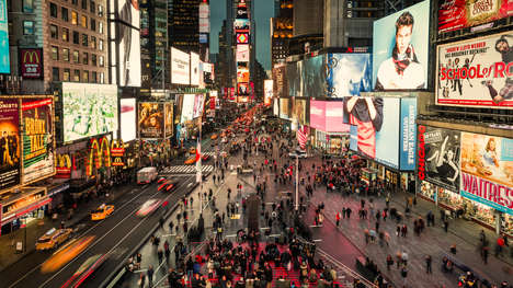 Times Square Redesigns - Snohetta's Times Square Design Features Increased Pedestrian Space