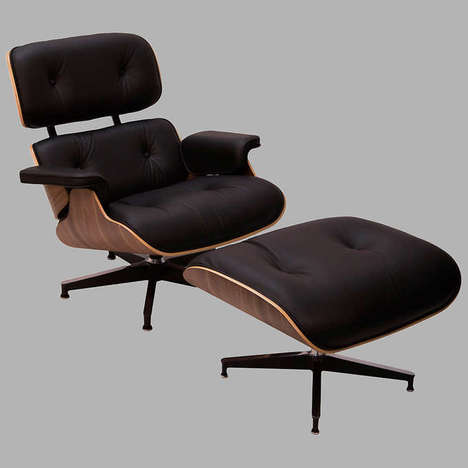 Classic Bulk Store Furniture - The Eames Ottoman and Lounge Chair are Now Available at CostCo