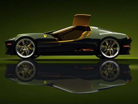 Retro Italian Supercar Concepts - Slimane Toubal's Ferrari 250 Concepts Pay Tribute to the 1960s