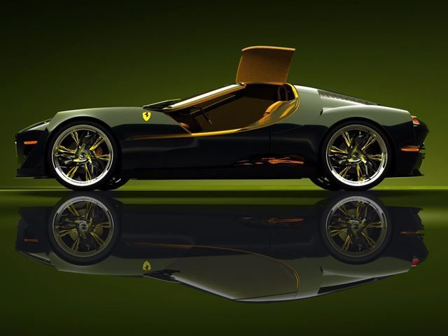 Retro Italian Supercar Concepts