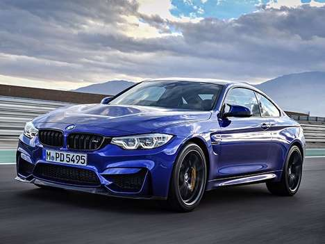 Angrily Elegant Sportscars - The All-new BMW M4 Cs Features More Power and a Racier Look