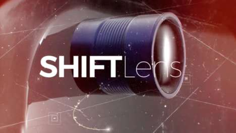 Shifting Angle Smartphone Lenses - The 'ShiftLens' Smartphone Photo Lens Adjusts Device Capabilities