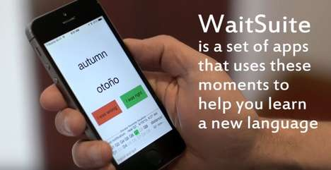Impatient Language-Learning Apps - WaitSuite Teaches Users New Languages During Loading Screens