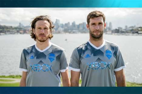 Ocean Plastic Sport Jerseys - The Parley x adidas Soccer Jerseys are Made from Recycled Plastic
