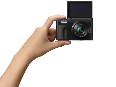 Travel-Ready 4K Cameras - The Panasonic Lumix DC-ZS70 High-Resolution Camera is Selfie-Ready