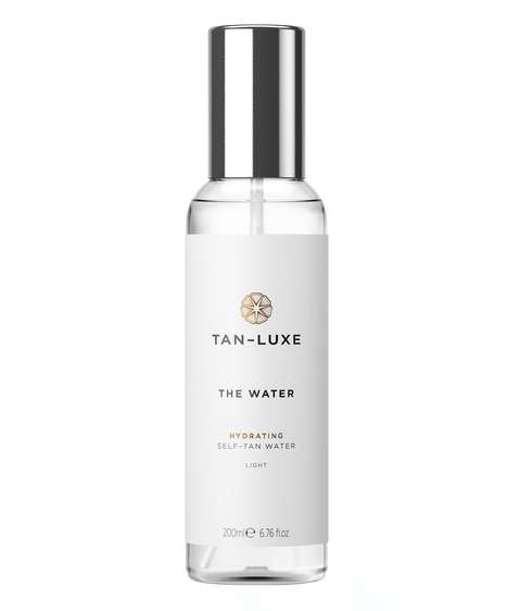 Tanning Water Sprays - 'The Water' by Tan-Luxe Boasts Transparent Tanning Technology