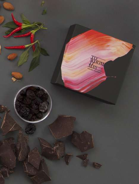 Low-Dose Cannabis Chocolates - To Whom It May Cannabis Offers Boxes of Varying Chocolate Flavors
