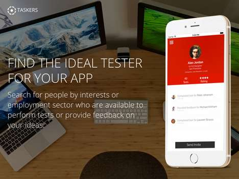 App Tester Platforms - 'Taskers' Finds the Ideal Users for App Testing