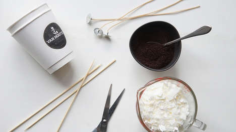 DIY Coffee Candles - Van Houtte Devised the Perfect Recipe to Bring Its Coffee Scent Everywhere