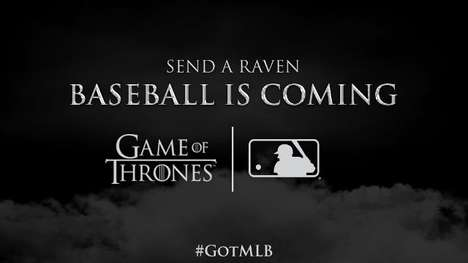Fantasy-Themed Baseball Games - The MLB Will Host Game of Thrones Theme Nights Throughout the Summer